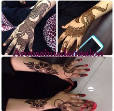 New henna Unique henna design #AishaHina #hennaboard