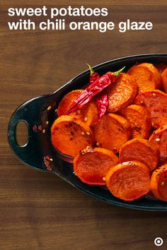 Glaze your way to a memorable Thanksgiving with this sweet potato and chili orange glaze recipe. Enjoy them at your table. Want to make it today? Have the ingredients delivered to your door in 2 hours or less with Instacart. Side Recipes, Vegetable Recipes, Vegetarian Recipes, Cooking Recipes, Healthy Recipes, Healthy Eats, Thanksgiving Recipes, Fall Recipes, Holiday Recipes