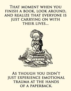 That Moment When You Finish a Book… - Waiting on Daughter of Smoke and Bone #3 an the movie too, of course.