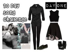 """""""30 Day Music Challenge: DAY ONE: Your favorite song?"""" by old-scars-future-hearts ❤ liked on Polyvore featuring art"""