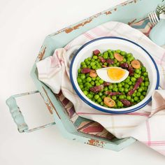 Guisantes Frescos Con Jamón. Cocina Saludable | La Cocina De Frabisa