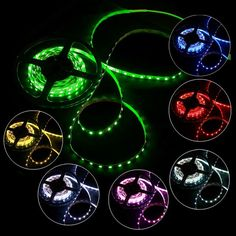 High Quality 5M Non-Waterproof 5050 SMD 300 LED Strip Light RGB from Tomtop.com