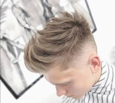 Kids Haircuts Textured Quiff With Tapered Undercut Your Wedding Theme Whether it's a traditional, fo Baby Girl Haircuts, Haircuts With Bangs, Cool Haircuts, Quiff Hairstyles, Braided Hairstyles Tutorials, Cool Hairstyles, Tapered Undercut, Kids School Hairstyles, Short Hair Cuts