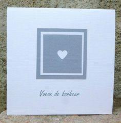 carte f licitations mariage rouge et blanche coeurs entrelac s collection lovely dentelle. Black Bedroom Furniture Sets. Home Design Ideas