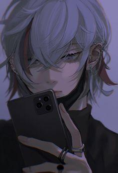 Cool Anime Guys, Hot Anime Boy, Anime Art Girl, Manga Art, Blonde Anime Boy, Anime Boy Sketch, Dark Anime Girl, Arte Com Grey's Anatomy, Anime Lindo
