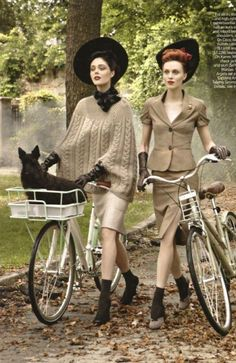 "sourire-alavie: "" Fashion Flashback Vogue Magazine shot by Steven Meisel Sept. 2009 with Coco Rocha & Karen Elson """