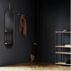 Products Coat Rack Hakenleiste The Secret Of Ladies. Nordic Design, Tall Wall Mirrors, Mirror Mirror, Ikea, Shelving Systems, Scandinavian Furniture, Nordic Furniture, Loft Furniture