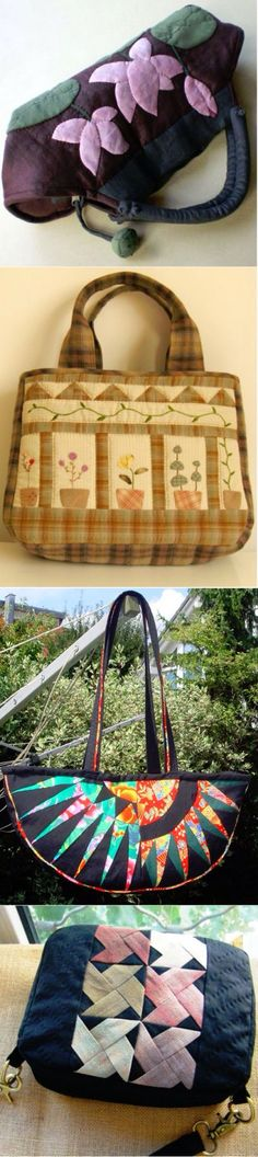 Borsa japanese Japanese Patchwork, Japanese Bag, Japanese Quilts, Patchwork Fabric, Patchwork Bags, Quilted Bag, Pouch, Wallet, Fabric Bags