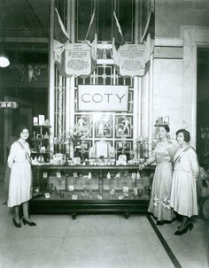 Style  glamour from the Continent, courtesy of the charming Coty girl at Selfridges legendary Beauty Hall