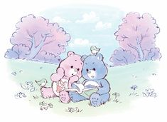Care Bear Party, Bear Coloring Pages, Bff Tattoos, Care Bears, Classic Toys, Manga, Little Pony, Baby Care, Cute Art