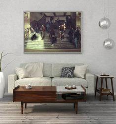 Fine Art Photography Print, Gateway to Escape Room, Fantasy Giclee Print, Limited Edition of 5 Photograph by Zuzana Uhlíková Landscape Art, Fantasy Landscape, Fantasy Art, Fantasy Forest, Winter Landscape, Landscape Arquitecture, Flame Art, Fine Art Photography, Fantasy Photography