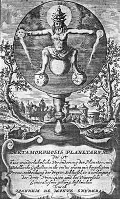 Frontispiece from Monte-Snyders Metamorpohosis planetarum, 1663 This shows a round mirror set upon a pedestal in a landscape. A God-like fig. Christian Mysticism, Natural Philosophy, Esoteric Art, Tarot, Masonic Symbols, Demonology, Greatest Mysteries, Virtual Art, Virtual Museum