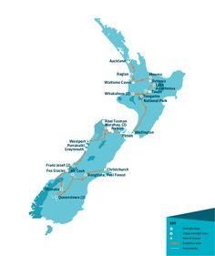 Itinéraire Nouvelle-Zélande