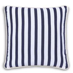 Nautical Stripe Cushion   Dunelm