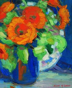 Alice G. Locke  Floral Still Life  20th century