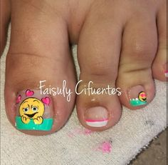 Uñass Nails For Kids, Black Women Hairstyles, Toe Nails, Pedi, Nail Designs, Hair Beauty, Nail Polish, Nail Art, My Favorite Things