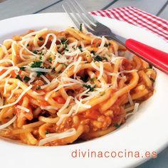 Salsas para pastas » Divina CocinaRecetas fáciles, cocina andaluza y del mundo. » Divina Cocina