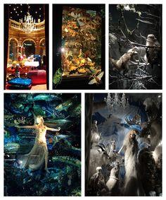 Vitrines de Natal da Bergdorf Goodman em NY. É boniteza demais pra dois olhos só!