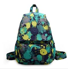 printing pattern casual backpack