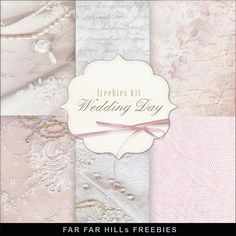 Far Far Hill: New Freebies Kit of Backgrounds - Wedding Day. Click on link for freebie http://farfarhill.blogspot.ca/2014/04/new-freebies-kit-of-backgrounds-wedding.html