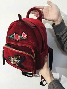 Black School Bags, Cute School Bags, Red Backpack, Backpack Bags, Fashion Backpack, Stylish Backpacks, Cute Backpacks, Designer Shoulder Bags, Cute Bags