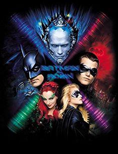 Batman & Robin - Promotional art with George Clooney, Uma Thurman, Alicia Silverstone, Arnold Schwarzenegger & Chris O'Donnell Batman And Robin Movie, Batman Family, Dc Movies, Comic Movies, Action Movies, Disney Movies, Blockbuster Movies, Batman Comic Art, Batman Comics