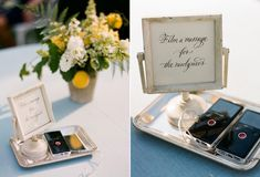 Jen Carreiro, the DIY weddings expert from SomethingTurquoise.com shares her 10 favorite DIY ideas for the tech savvy bride and groom - check them out!
