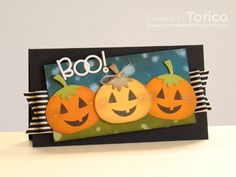 STAMPARADISE: PS SPARKS Challenge - Boo!