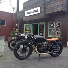 CB750 cafe racer...it is not! It is a CB550