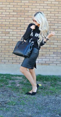 Leather & Cotton. #MoonlessNight #FashionInspiration #FashionBlog