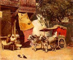 An Indian Gharry - Edwin Lord Weeks