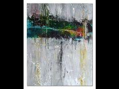 acryl und Tusche, abstrakt