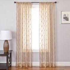 Softline Silhouette Sheer Curtain Panel