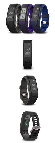 GPS and Running Watches 75230: Garmin Vivosmart Hr+ Wrist-Based Heart Rate Plus Gps -> BUY IT NOW ONLY: $179.99 on eBay! #runningwatch #runninggpswatch