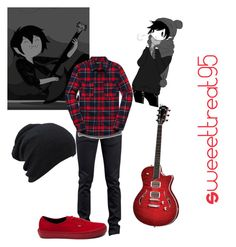 Marshall lee modern outfits by sweeettreat95 on Polyvore featuring polyvore fashion style Vans 21 Men Naked & Famous T3 modern clothing