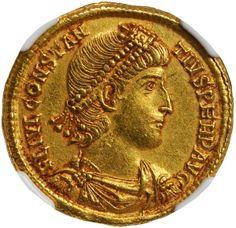 Constance II coin