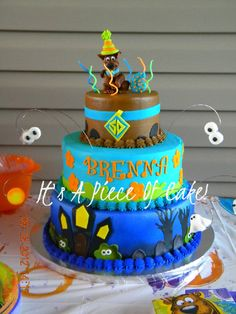 Scooby Doo cake for Erin Scooby doo cake Cake and Birthdays