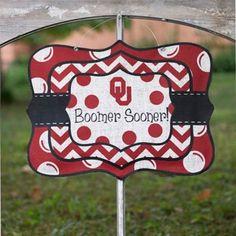 Oklahoma Sooners Chevron Burlee