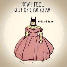 Gym humor...fit girls be like yup so true!!!!