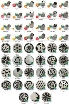 Amazon.com: 27 RUSSIAN PIPING TIPS - 32 PIECE SET from It's All Good. Includes Food Grade Stainless Steel Flower Decoration Icing…