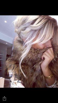 Blond polaire Léa loghan