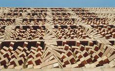 pixeleated with bricks