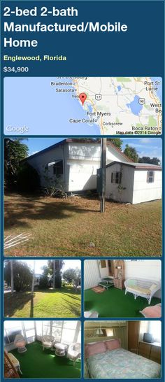 2 Bed Bath Manufactured Mobile Home In Englewood Florida 3490000