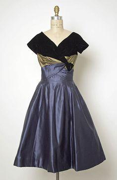 House of Balmain, evening dress, 1953-58