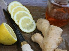 Ginger Lemon Honey Tonic for colds and flu - everything you need to make this can be found in your local grocery store!