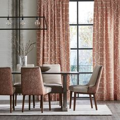 Whether you're entertaining the family or relaxing in your surroundings, create a fashion statement in your home with our latest Momentum collection. #harlequin #momentum #wallpaper #fabric #fashion #sunday #diningroom