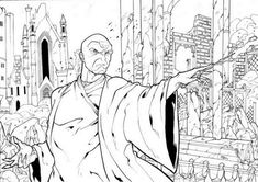 Harry Potter Voldemort, Lord Voldemort, Dobby Harry, Ninjago Coloring Pages, New Year Coloring Pages, Disney Coloring Pages, Coloring Books, Harry Potter Colors, Harry Potter Owl