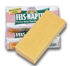 Fels Neptha Soap...for use in the laundry...Mama used this brand, too!