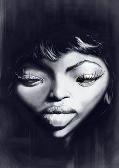 [ Naomi Campbell ] - artist: Patrick Strogulski - website: http://patrick-strogulski.blogspot.com/