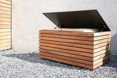 Wooden garden cabinet FORTE by conmoto by Lions at Work design Sebastian David Büscher